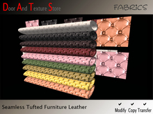 SALE! Seamless Tufted Leather Textures, Furniture Leather Textures, Leder, Leather fabric textures 5577