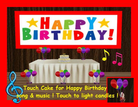 Outstanding Second Life Marketplace Birthday Cake With Music Song Funny Birthday Cards Online Chimdamsfinfo