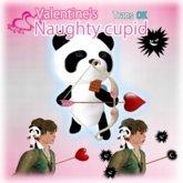 Valentine's naughty Cupid Panda