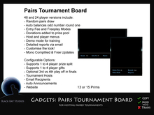 BKS Gadgets - Pairs Tournament Board (Boxed)