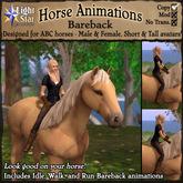 *LightStar-Horse Animations-Bareback