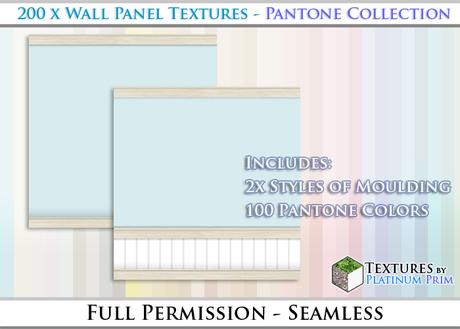 200 Wall Panel Textures Seamless Pantone Colors