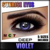 IKON 'Sunrise' Eyes - Violet Deep