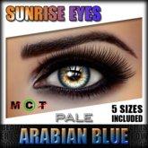 IKON 'Sunrise' Eyes - Arabian Blue Pale