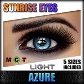 IKON 'Sunrise' Eyes - Azure Light