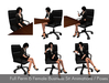 Full Perm 6 Female Business Sit Animations and Poses