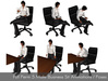 Full Perm 5 Business Sit Poses Male