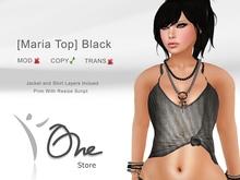 :: One Store :: [Maria Top] Black PROMO!