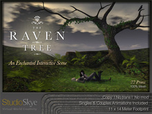 The Raven Tree from Studio Skye 100% MESH