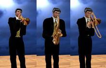 Brass Horns (Boxed)