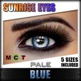 IKON 'Sunrise' Eyes - Blue Pale