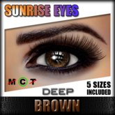 IKON 'Sunrise' Eyes - Brown Deep
