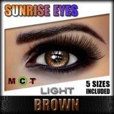 IKON 'Sunrise' Eyes - Brown Light