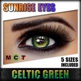 IKON 'Sunrise' Eyes - Celtic Green