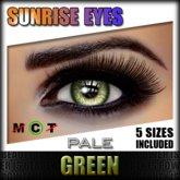 IKON 'Sunrise' Eyes - Green Pale