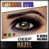 IKON 'Sunrise' Eyes - Hazel Deep