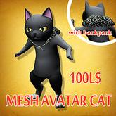 kowloon mesh cat avatar