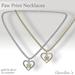 (Caroline's Jewelry) Paw Print Necklaces
