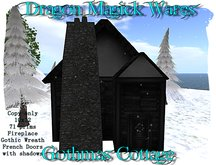 Dragon Magick Wares Gothmas Cottage with Fireplace
