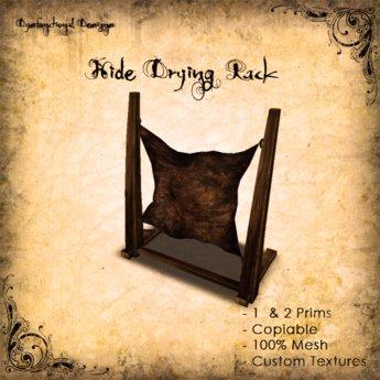[DDD] Hide Tanning Rack