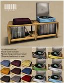 Funky Lispette Vinyl Turntable Unit (LISP Bazaar)
