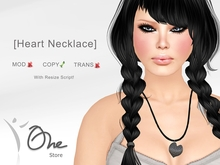 :: One Store :: [Heart necklace] BOX GIFT