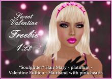 GIFT *Soulglitter* Hair Mary - platinum