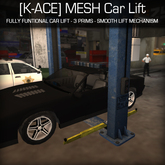[K-Ace] MESH Car Lift (With Smooth Movement)