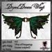 **Nightfairy's** Dryad Dream Wings - Emerald