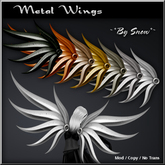 ~*By Snow*~ Metal Wings