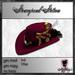 **Nightfairy's** Steampunk Stetson - Velvet Red