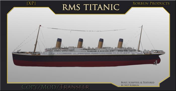 [XP] RMS Titanic