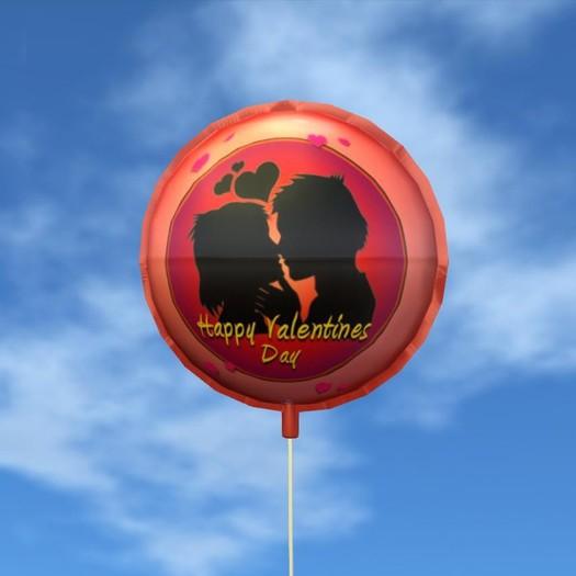 Balloon - Happy Valentine's Day - Couple