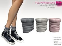 Full Perm Mesh Socks Top - Builder's Kit
