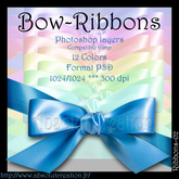 Bow-ribbons-PSD 02