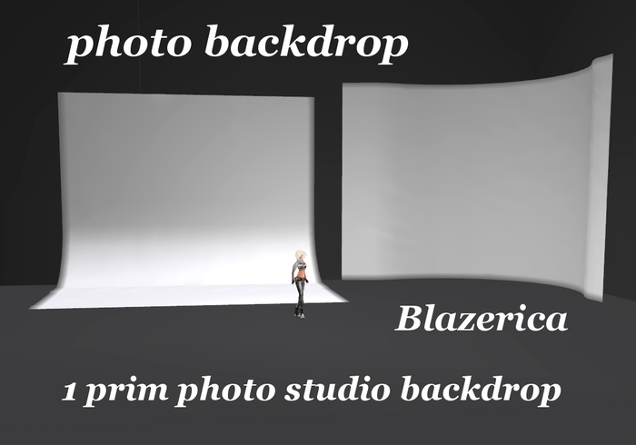 *Blazerica* photo backdrop