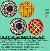 4 Fruit-Pies