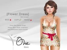 :: One Store :: [Flower Dress]