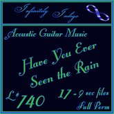 Acoustic Guitar - Have You Ever Seen The Rain - 17