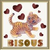 POOFER Tigre Bisous