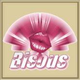 POOFER Lèvres roses Bisous