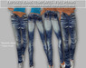 TD TEMPLATES Exposed Jeans - Templates - FULL PERMS