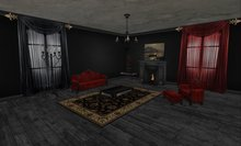 Victorian Goth Living Room (complete)