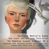 Darling Betty's Eyes Makeup by Miss Shippe's Studio