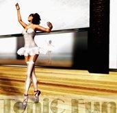 Ballet nostalgia - pose