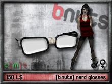 [b.nuts] nerd glasses