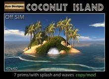 50% OFF! Coconut Island-off sim