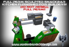 ~Full perm Snackbar kitchen Furnished + maps and textures