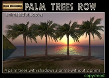 Palm trees row-box