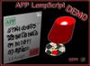 APP Lamp Script demo